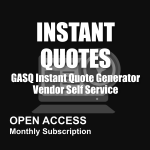 GASQ Instant Quotes Open Access