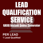 Lead Qualification Service - Per Lead